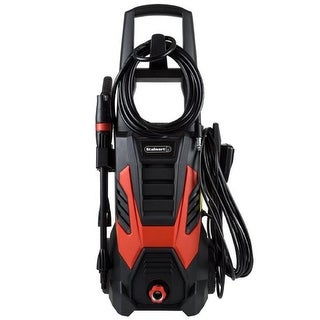 2000 PSI Electric Powered Pressure Washer by , Red & Black