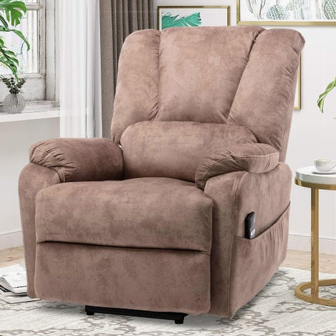 TiramisuBest Classic electric recliner with side pocket for livingroom