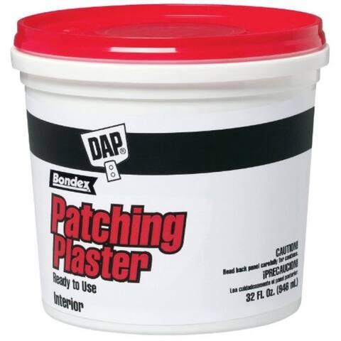 Dap 52084 Ready to Use Bondex Patching Plaster, 1 Qt, White