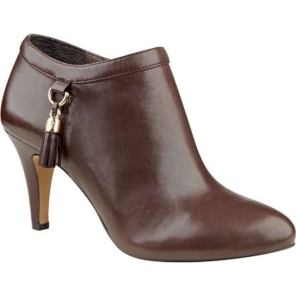 Vince Camuto Womens Vecka Leather Almond Toe Ankle Fashion Boots
