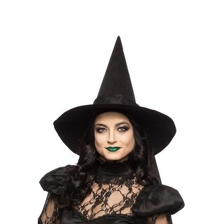 Seeing Red Witch Hat (Adult) - Black