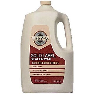 Trewax 887137100 Gold Label Sealer Wax, 100 Oz