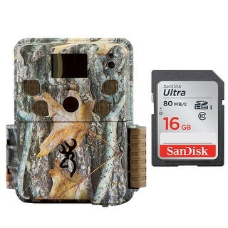 Browning STRIKE FORCE PRO 18MP Micro Trail Camera w/ 16GB SD Card - Camouflage