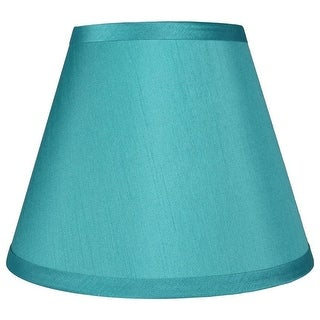 Link to Hardback Faux Silk Coolie Lamp Shade, 5 inch Top, 9 inch Bottom, 7 inch Slant Similar Items in Lamp Shades