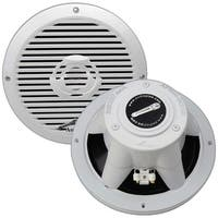 "Audiopipe 8"" 2-Way Coaxial Marine Speaker 350W White"