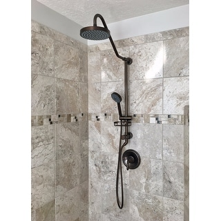 Most Helpful  Big Rainshower head Pulse Kauai II Rain Shower System Free Shipping Today