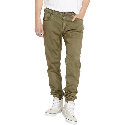 Buffalo David Bitton Mens Zoltan-X Relaxed Jeans, green, 36W x 33L - 36W x 33L
