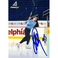 Petr Nedved Autographed Hockey Card Pittsburgh Penguins 1997