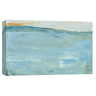 """PTM Images 9-101914  PTM Canvas Collection 8"""" x 10"""" - """"Landscape Study 10"""" Giclee Abstract Art Print on Canvas"""