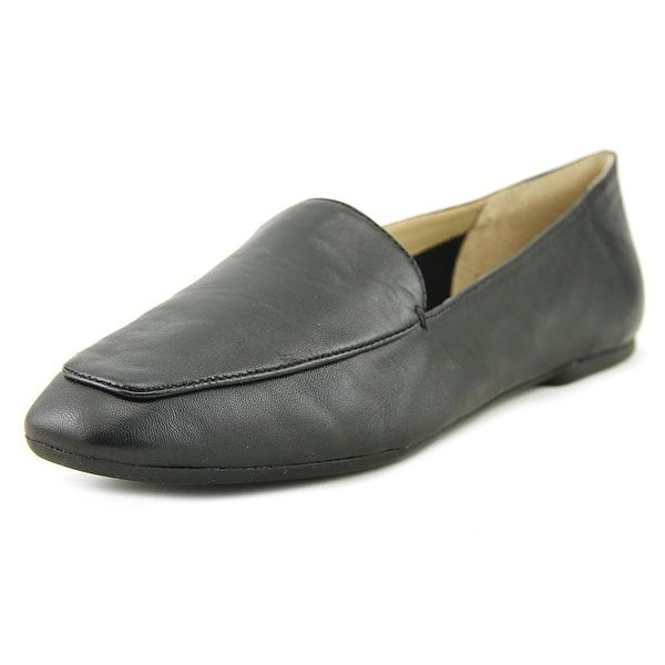 Enzo Angiolini Womens Lorell Leather Square Toe Loafers - 7