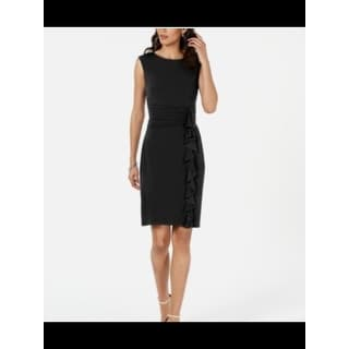 Link to JESSICA HOWARD Black Sleeveless Above The Knee Dress 18 Similar Items in Dresses