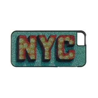 Greene + Gray Womens NYC Cell Phone Case iPhone 5 Glitter