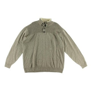 Tricots St. Raphael Mens Marled Long Sleeves Pullover Sweater - XL