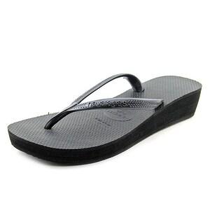 Havaianas High Light Women Open Toe Synthetic Flip Flop Sandal