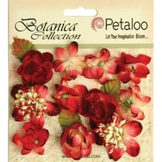"Red - Botanica Minis 1"" 11/Pkg"