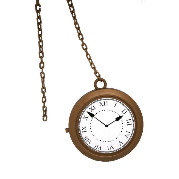 Alice In Wonderland Jumbo Pocket Watch / White Rabbit Clock