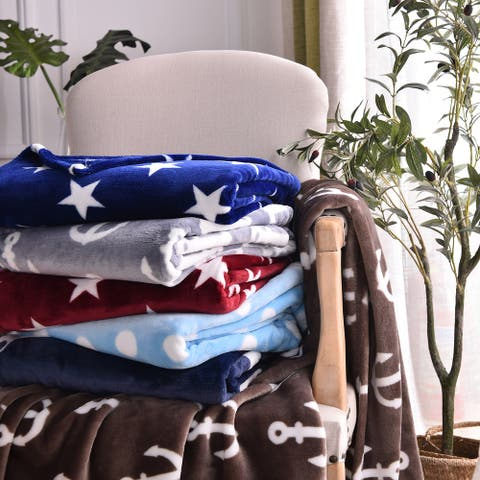 Microlight Ultra Soft Plush Throw Blanket