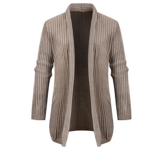 Men's Collar Cardigan Lightweight Sweater