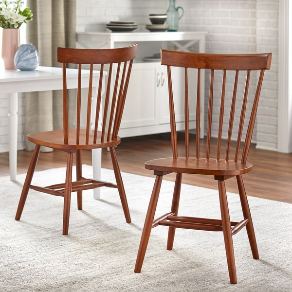 Simple Living Venice Farmhouse Dining Chairs (Set of 2). Opens flyout.