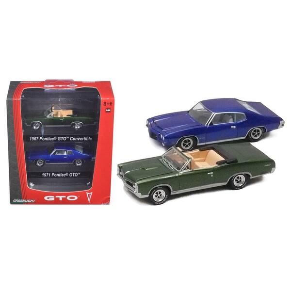 GTO-Set  mit 2 Modellen  Greenlight  LIMITED EDITION  1:64  NEU  OVP