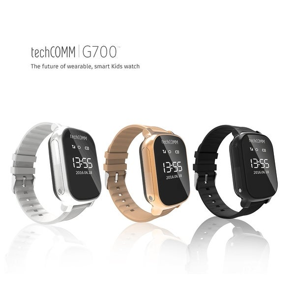 TechComm G700 Kid Tracker Watch for T-Mobile ONLY with Call, GPS and Geofencing