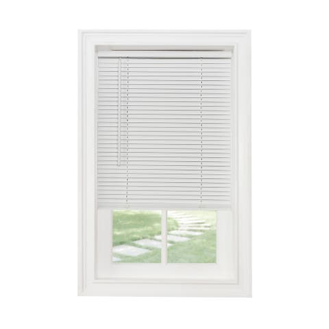 "ACHIM Cordless GII Morningstar White 1"" Light Filtering Mini Blind"