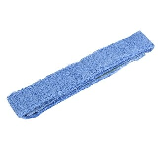 Terry Self-Adhesive Bicycle Tennis Racket Towel Grip Wrap Tape Band Light Blue