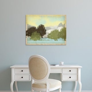 Easy Art Prints Vision Studio's 'Serene Park I' Premium Canvas Art