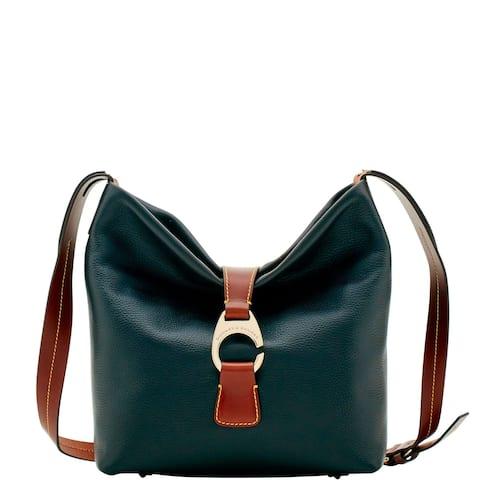 696a409d001e5f Dooney & Bourke Derby Pebble Crossbody Hobo Shoulder Bag (Introduced by  Dooney & Bourke in. MSRP