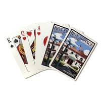 Hot Springs Park, AR - Hale Bathhouse - LP Artwork (Poker Playing Cards Deck)
