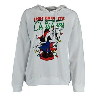 Disney Women's Plus Size Minnie Mouse Hoodie Sweatshirt