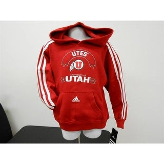 University Of Utah Utes KIDS Sizes S M L Sizes 4 5 6 7 Adidas Hoodie