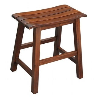 Slat seat stool - 18 sh - rta Espresso