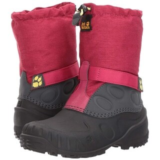 Jack Wolfskin Girls Iceland High K Mid-Calf Pull On Snow Boots