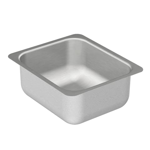 """Moen G204502 12"""" Single Basin Undermount Stainless Steel Bar Sink with SoundSHIELD Technology from the 2000 Series"""