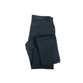 Givenchy Mens Black Matte Hardware 100% Cotton Slim Fit Denim - 30