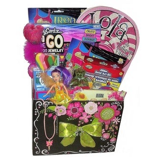 Fairy Crafty Arts and Crafts Gift Basket