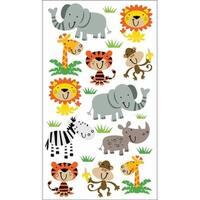 Sticko E5200995 Sticko 58 Stickers-Zoo Cuties