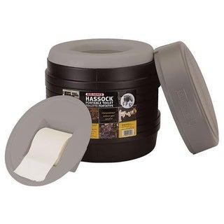 Reliance 13 Hassock Toilet Single Pack, Black