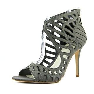 BCBGeneration Drita Women  Open Toe Leather Gray Sandals