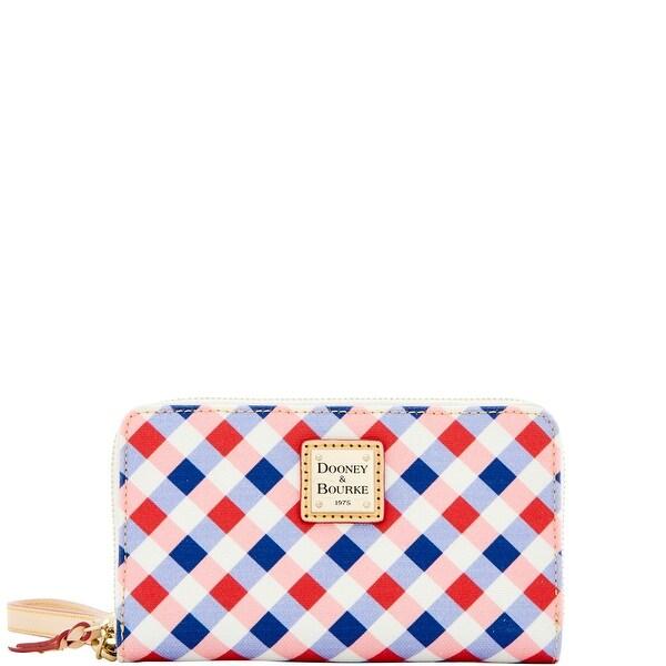 Dooney & Bourke Elsie Zip Around Phone Wristlet (Introduced by Dooney & Bourke at $108 in Apr 2016)