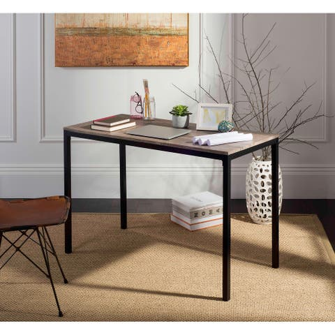 "SAFAVIEH Janison 47"" Grey / Black Writing Desk"