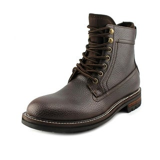 Tommy Hilfiger Hollins Men Round Toe Leather Boot