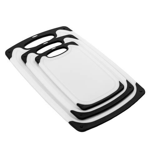 Eviva 3-Piece Plastic Cutting Board Set