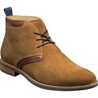 Florsheim Men's Uptown Plain Toe Chukka Boot Mocha Suede