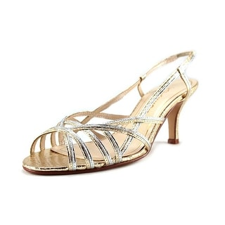 Caparros Estella Women Open-Toe Synthetic Slingback Heel