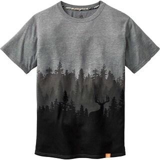 Legendary Whitetails Men's Timber Shadow Short Sleeve T-Shirt - graphite heather