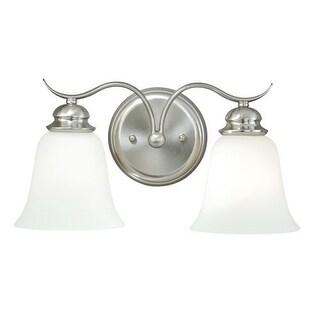Vaxcel Lighting W0090 Darby 2 Light Bathroom Vanity Light - 15 Inches Wide