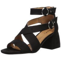 Qupid Women's Cray-06 Heeled Sandal