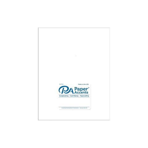Cdstk Pearlized 8.5x11 89lb White 5pc